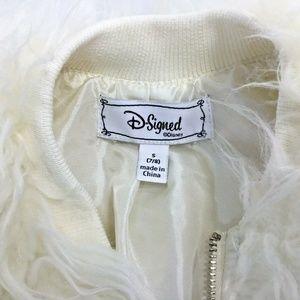 D-Signed~Disney~Faux Fur Coat~Jacket~Shaggy~Plush~